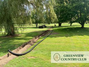 Greenview Country Club Drainage Project 2020